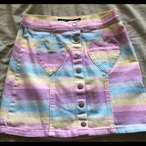 Dresses & Skirts - Pastel skirt from hot topic